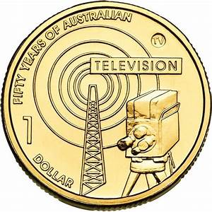 2006 Australian 50 Year Of TV 1 Uncirculated Coin TV