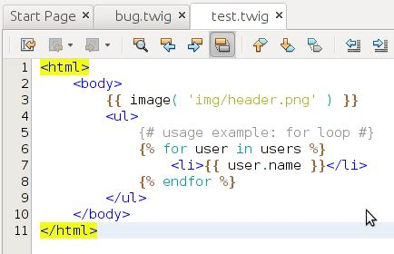 Twig Templates Symfony2 by Initial Support For Symfony2 Oracle Netbeans For Php Blog