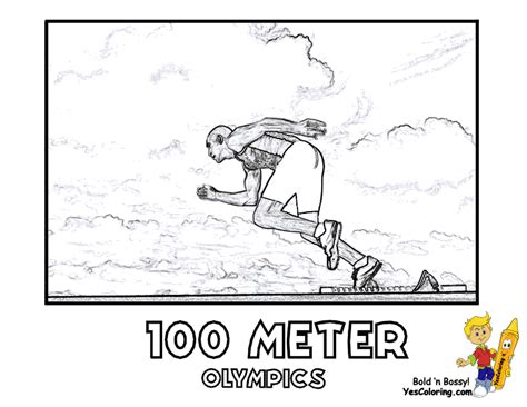 olympics summer coloring pages olympic game  sports