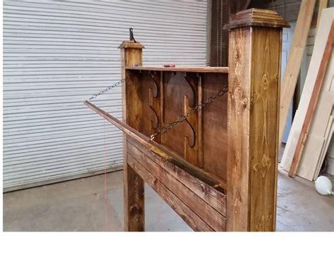 concealed gun headboard crafts   diy furniture