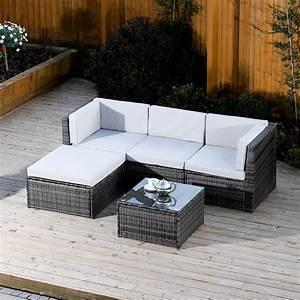 5 piece milano modular rattan corner sofa set now in for 5 piece grey sectional sofa