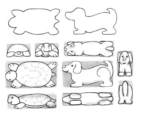 Soap Carving Templates by Capitol Woodcarvers