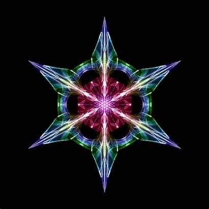 Symmetric Fractal Attractor Star Fractals Sonic Sculptures