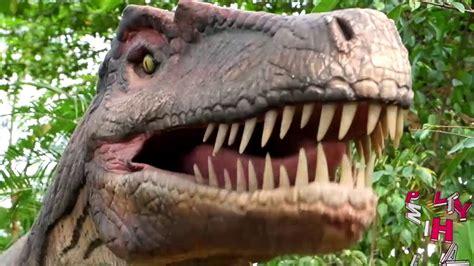 petualangan dinosaurus taman legenda taman mini indonesia indah youtube