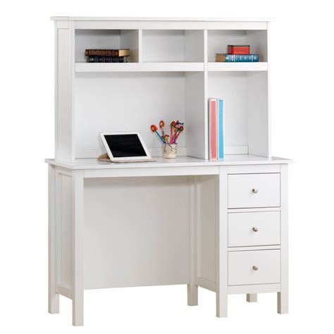 kids white desk with hutch lilydale study desk w hutch drawers in white buy kids