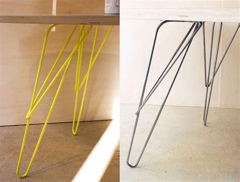 bureau noir verre w pied de table design