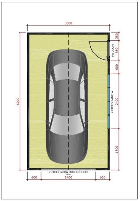 Permalink to Single Car Garage Dimensions