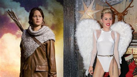 Jennifer Lawrence and Miley Cyrus Wax Figures Unveiled ...