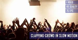 Clapping Concert Crowd In Slow Motion by StockHunter ...