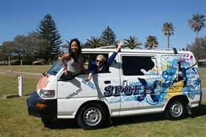 budgie van hire cheap van rentals at travellers autobarn
