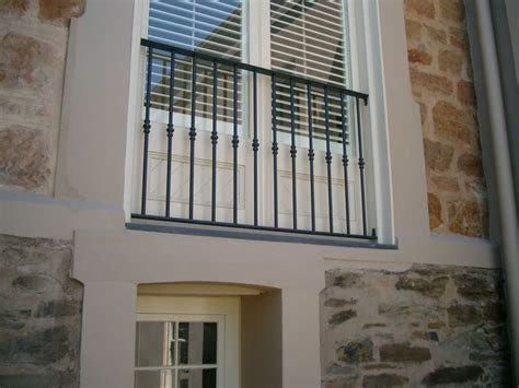 window railing this simple design could work for balustrading iron balcony designs