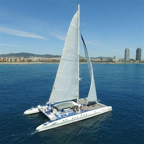 Barcelona Skyline Catamaran Cruise catamaran ride