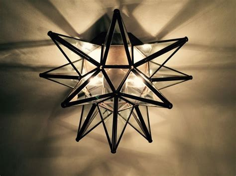 details about moravian star ceiling light wall sconce 15