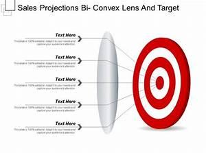 Sales Projections Bi Convex Lens And Target