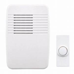 Heath Zenith Wireless Plug-in Door Chime Kit-245830