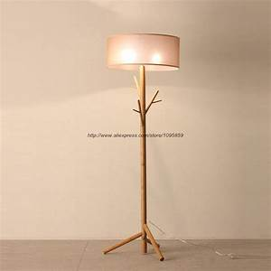 Popular standard lamps buy cheap standard lamps lots from for Wood tree floor lamp