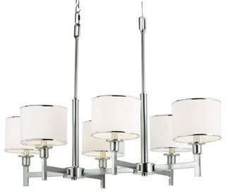 contemporary kitchen faucet six light brushed nickel drum shade chandelier 2487