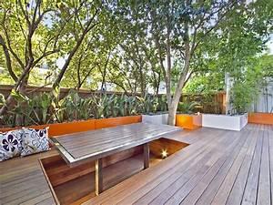 Bau Einer Holzterrasse : terrassentisch ausfahrbarer tisch auf der terrasse eine terrasse aus holz erf llt den traum ~ Sanjose-hotels-ca.com Haus und Dekorationen