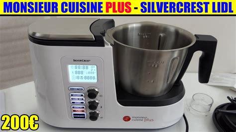 radio cuisine lidl monsieur cuisine plus lidl silvercrest présentation test avis notice forum unboxing skmk 1200