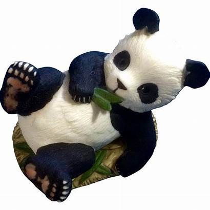 Panda Bear Porcelain Andrea Figurine