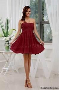 dark red and black prom dress 2016-2017   B2B Fashion