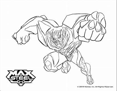 Steel Max Coloring Pages Dessin Beywheelz Coloriage