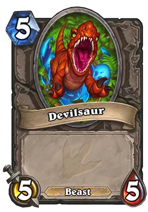 devilsaur token hearthstone card