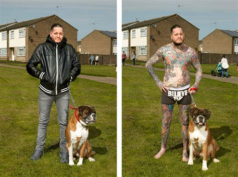 Revealing Portraits Of Heavily Tattooed People