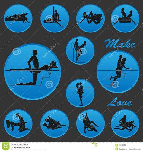 Faites La Position D'amour Illustration de Vecteur - Image ...