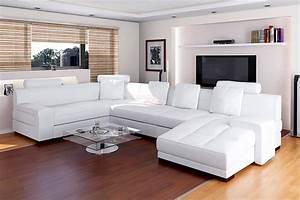 Les Plus Beaux Canapés : canap d 39 angle moderne cuir imperial 1 699 00 ~ Melissatoandfro.com Idées de Décoration