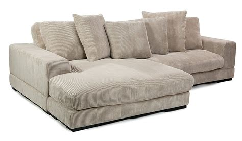 Moes Home Collection Plunge Reversible Sectional Sofa