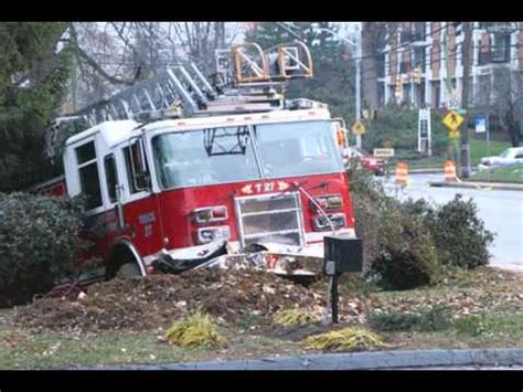 Boating Accident Haliburton by 911 Fire Trucks Crash While Responding Youtube