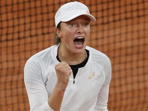 French Open day eight: Iga Swiatek stuns Simona Halep to ...