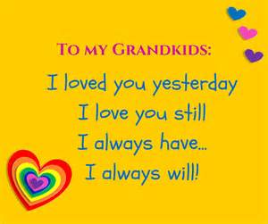 I Love You Grandma Quotes Grandchildren
