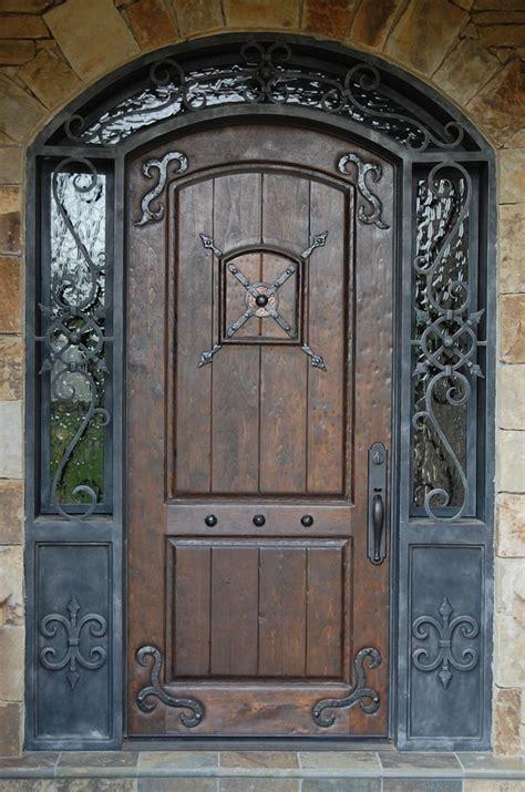 Old world-styled door