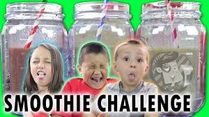 Smoothie Challenge   FUNNEL VISION Cry Babies :P   Doovi