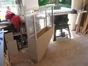 Dust cover been for miter saw - by David Dean