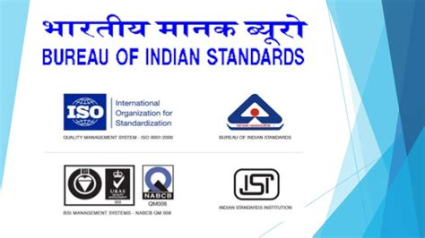 bureau of standards bureau of indian standards