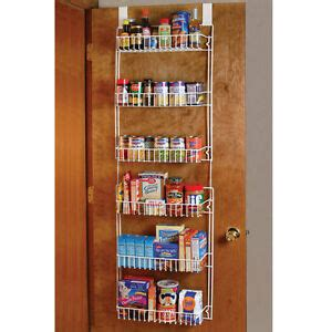 Hanging Pantry Storage by Kitchen Pantry The Door Storage Rack Spices Cans Food