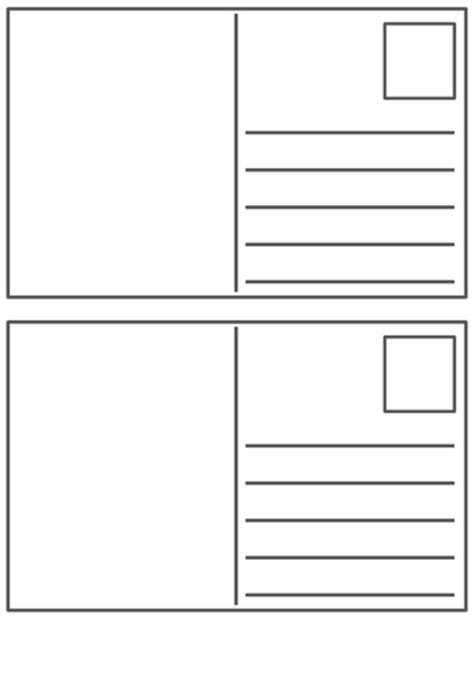 blank postcard template  peaches teaching resources