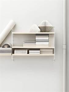 String Pocket Weiß : string pocket regal holz l 60 x h 50 cm esche seitenelemente wei by string furniture ~ Orissabook.com Haus und Dekorationen