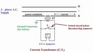 Current Transformer Wiring Diagrams