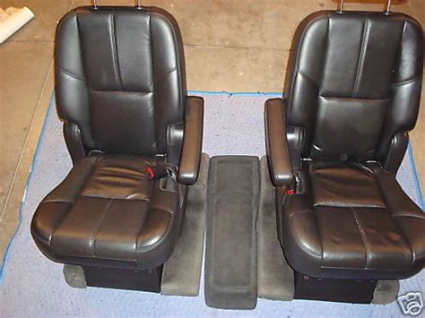 07 tahoe captains chairs seats leather chevrolet