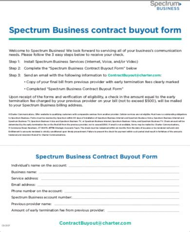 sample business buyout agreement  examples  word