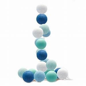 Cotton Balls Lichterkette : good moods led lichterkette cotton balls blau mint wei bei fantasyroom online kaufen ~ Eleganceandgraceweddings.com Haus und Dekorationen