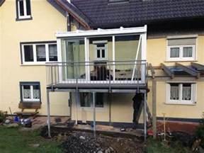 wintergarten mit balkon metallbau klein gmbh sortiment stahlbalkone