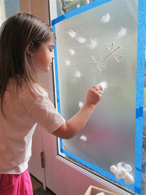 snow activities for preschool snow window winter activity for no time for flash 242
