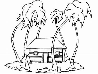 Mewarnai Gambar Untuk Pemandangan Terbaru Rumah Sketsa