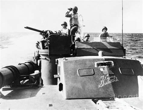 Ww2 Pt Boats For Sale by Wwii Pt Boat Photograph By Granger