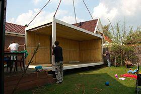 wooncontainer huren amsterdam ideale thuiswerkplek container vervangen geen tuin in je